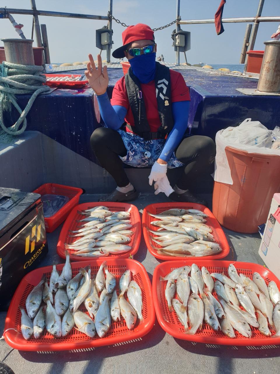 7월31일 해랑호 백조기 조황