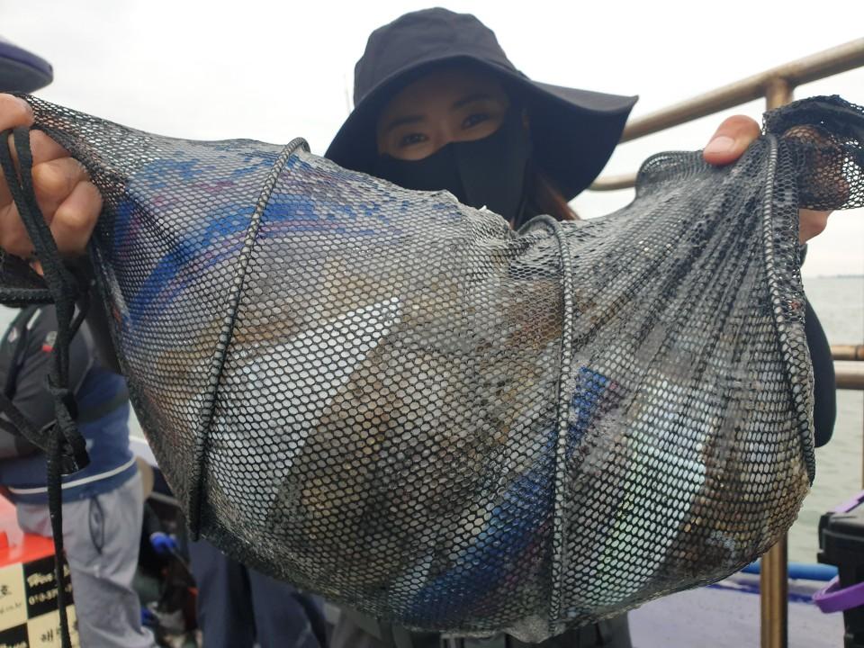 9월 27일 해랑호 쭈꾸미 조황